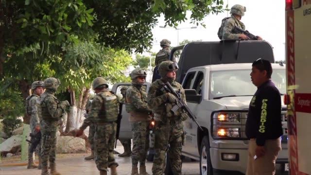 La Riviera Maya de Mexico sufrio un nuevo tiroteo el martes