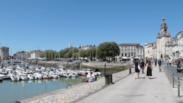 la rochelle in france - nouvelle aquitaine stock videos and b-roll footage