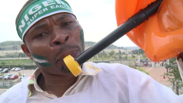 la seleccion de nigeria gano este domingo la copa de africa de naciones de futbol 2013 al imponerse 1-0 a la seleccion de burkina faso en... - 2013 stock videos & royalty-free footage