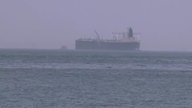 la tension subia este lunes en el golfo donde varios navios fueron objeto de actos de sabotaje segun arabia saudita y emiratos arabes unidos - transporte bildbanksvideor och videomaterial från bakom kulisserna
