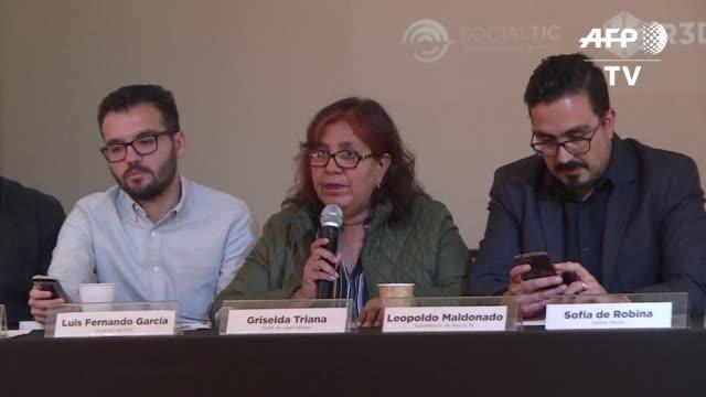 la viuda de javier valdez un reconocido periodista mexicano especializado en narcotrafico que fue asesinado en 2017 denuncio el miercoles haber sido... - drug trafficking stock videos & royalty-free footage
