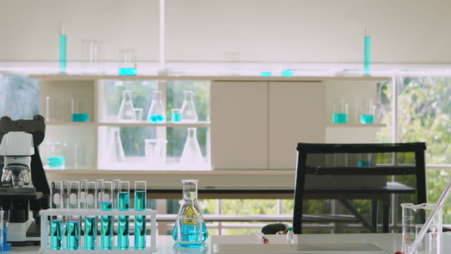 laboratory at break no people in room - medical equipment stock videos & royalty-free footage