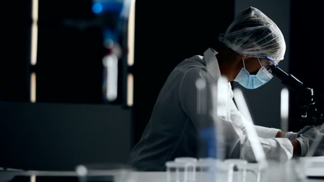 laboratory technician - virus stock videos and b-roll footage