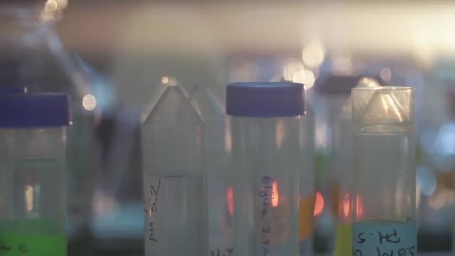 C/U laboratory, test tubes