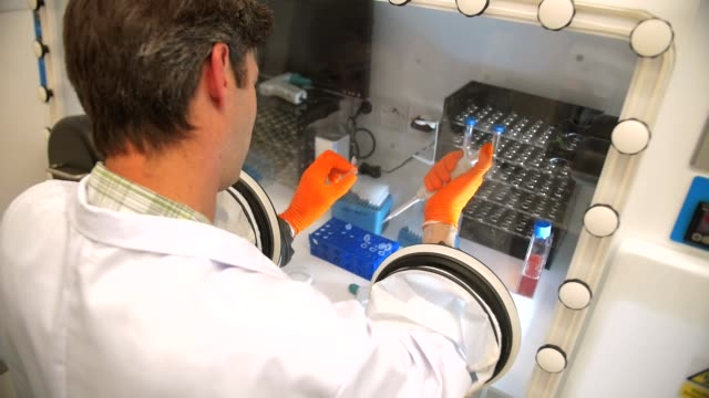 laboratory - microbiology stock-videos und b-roll-filmmaterial