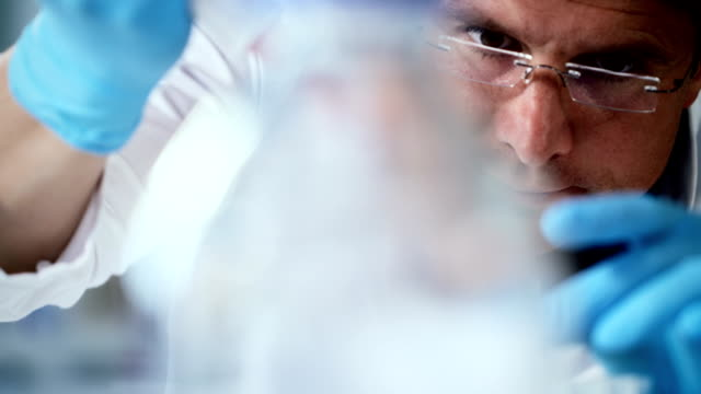 laboratory work - biotechnology stock videos & royalty-free footage