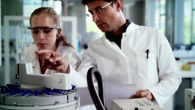 Lab In A Lab Coat Videos And B Roll Footage Getty Images