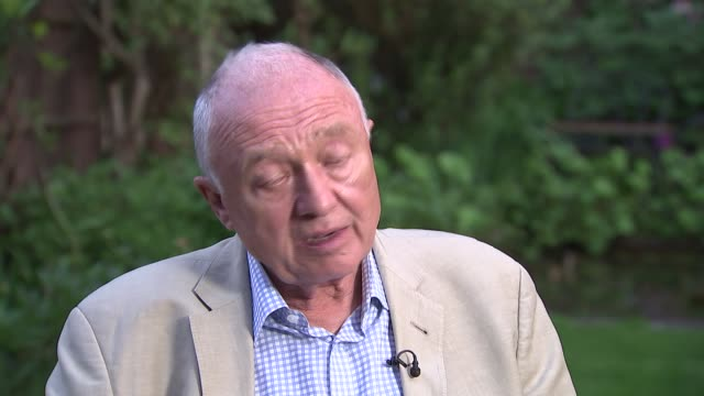 stockvideo's en b-roll-footage met ken livingstone interview england london ext ken livingstone interview sot - ken livingstone