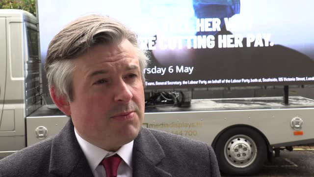 labour deputy leader angela rayner and shadow health secretary jonathan ashworth launch a hard-hitting poster on the government's handling of a... - paying stock videos & royalty-free footage