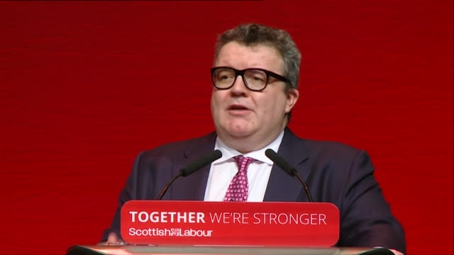 """labour deputy leader tom watson saying """"our job in the next general election is gaining over 100 seats, keeping what we have is supposed to be the... - number 100 stock videos & royalty-free footage"""