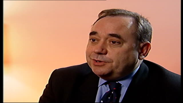 funding of city academies investigation des smith london int alex salmond mp interview sot any charges that involve transactions in honours... - alex salmond stock videos & royalty-free footage
