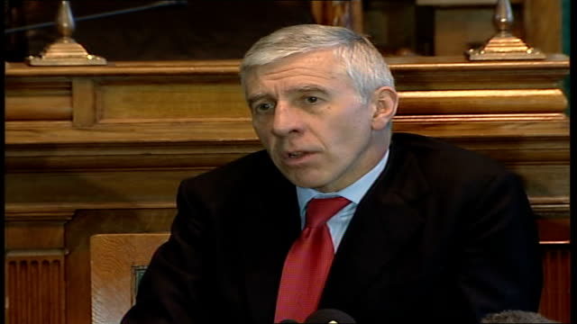 jack straw holds first constituency surgery since 'veil' comments straw speaking reacts to statement by head of the british army sir richard dannatt - jack straw stock videos and b-roll footage