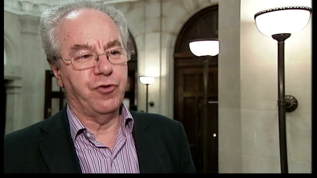 stockvideo's en b-roll-footage met labour lead over conservatives cut to 4 points; london: westminster: peter kellner (chairman interview sot - voorzitter