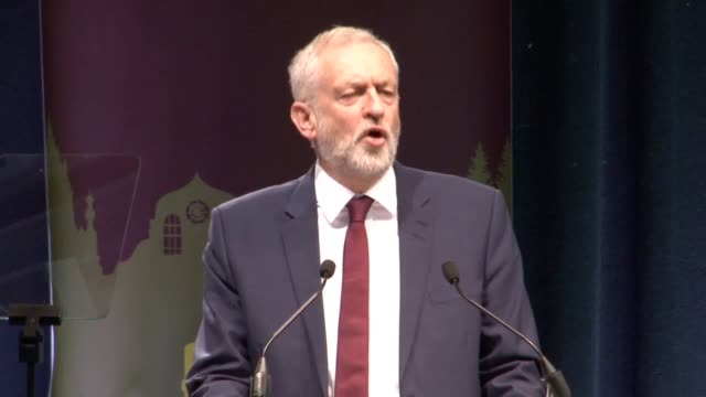 Labour Leader Jeremy Corbyn addressed the Unite union conference in Aviemore He said that the party is going through a rebirth in Scotland and called...