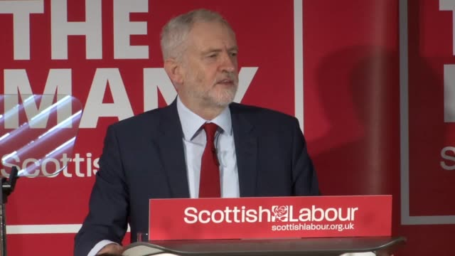 Labour leader Jeremy Corbyn speaks at a Scottish Labour event with new Scottish Labour leader Richard Leonard Richard Leonard has become the fourth...