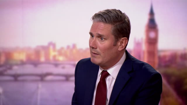 labour leader keir starmer saying boris johnson should apologise for failures with coronavirus testing and reinstate the daily briefings - routine stock videos & royalty-free footage