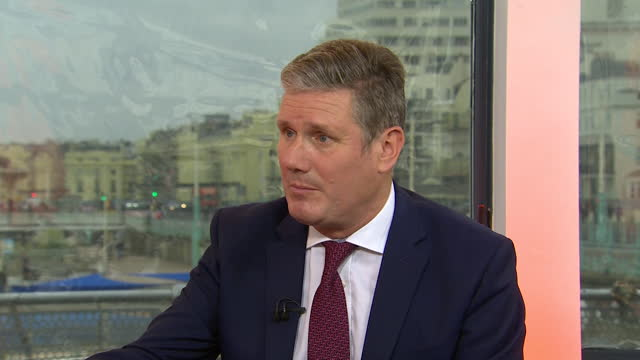 labour leader keir starmer saying the coronavirus pandemic prevented him getting message to people - prevention stock videos & royalty-free footage