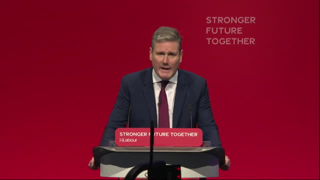 """labour leader keir starmer saying """"work, care, equality and security are the tools of my trade"""" - care stock videos & royalty-free footage"""