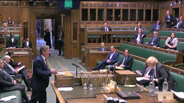 labour leader sir keir starmer presses prime minister boris johnson on whether the contact tracing app is critical or not in combating the... - contact tracing stock videos & royalty-free footage