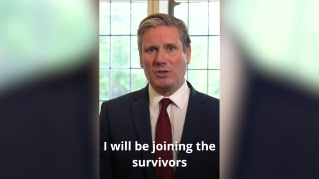 labour leader sir keir starmer says three years on from the grenfell fire there has been 'little justice or accountability' served over the disaster.... - flammable stock videos & royalty-free footage