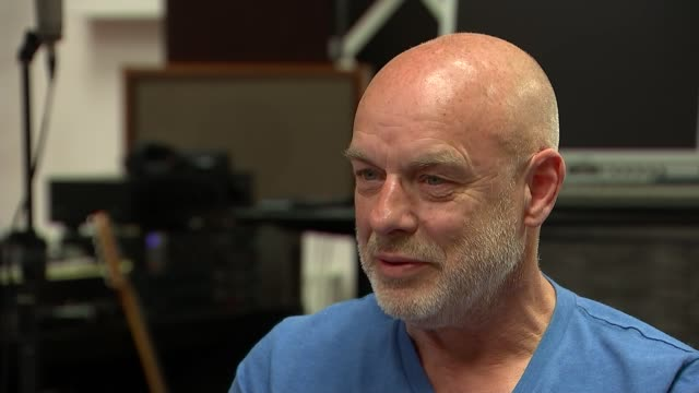 Brian Eno gives support to Jeremy Corbyn Brian Eno interview SOT