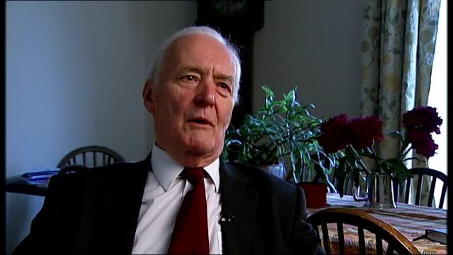stockvideo's en b-roll-footage met labour leadership contest: ed milband and david miliband profile; tony benn interivew sot - tony benn