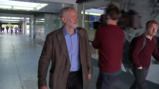 harriet harman dismisses claims of political infiltration hertfordshire stevenage ext jeremy corbyn along - stevenage stock videos and b-roll footage