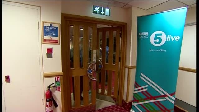 labour leadership contest: harriet harman dismisses claims of political infiltration; england: hertfordshire: stevenage: int andy burnham mp telling... - 一般教育証明試験点の映像素材/bロール