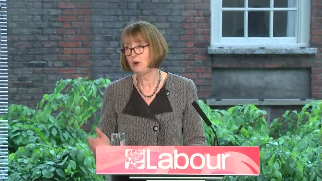 harriet harman speech on future of labour party england london int harriet harman mp arriving to applause sot harriet harman mp speech sot **speech... - stepping stone stock videos & royalty-free footage