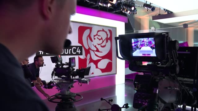 labour leadership contest: jeremy corbyn criticised for comments on death of osama bin laden; gir: jeremy corbyn mp, yvette cooper mp, liz kendall mp... - krishnan guru murthy stock videos & royalty-free footage