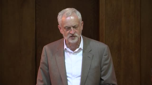 labour leadership contest: labour assembly against austerity; england: london: int diane abbott mp seated jeremy corbyn mp along and speech sot -... - sidewalk gutter stock videos & royalty-free footage