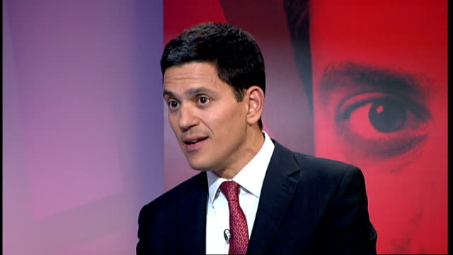 Live debate with candidates David Miliband MP interview SOT The truth is that both under Tony and under Gordon we did not reinvigorate the Labour...