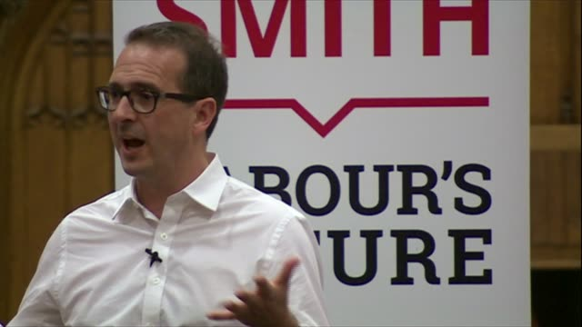 owen smith at hustings england oxford int owen smith mp addressing hustings meeting and audience listening sot audio owen smith mp interview sot - owen smith politician stock videos & royalty-free footage