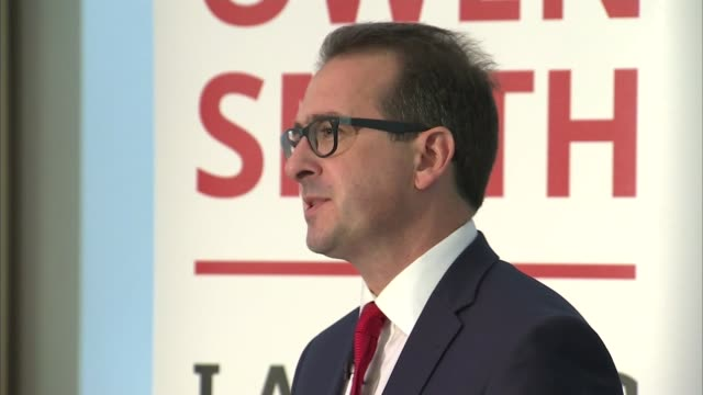 owen smith speech cutaways england south yorkshire sheffield int owen smith mp speech sot - owen smith politician stock videos & royalty-free footage
