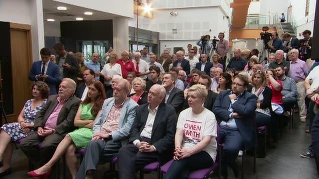 owen smith speech cutaways owen smith mp speech sot launches leadership bid cutaways audience - owen smith politician stock videos & royalty-free footage