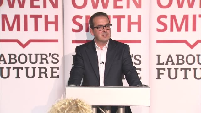 owen smith speech in wales owen smith mp speech sot - owen smith politician stock videos & royalty-free footage