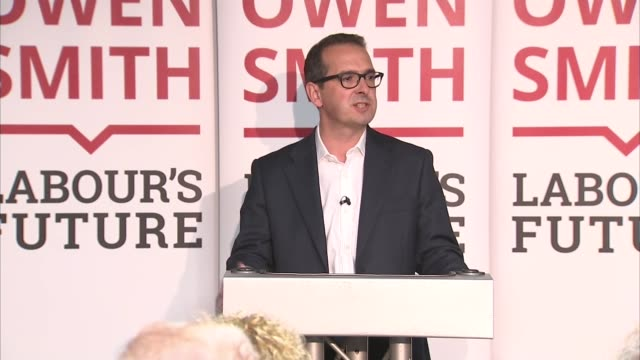 owen smith speech in wales wales porth int owen smith mp start of speech sot - owen smith politician stock videos & royalty-free footage