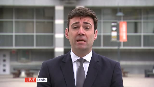 vídeos de stock, filmes e b-roll de polling closes t28071506 andy burnham mp during live interview on channel 4 news sot wasn't prepared to lead rebellion and plunge our party into... - channel 4 news