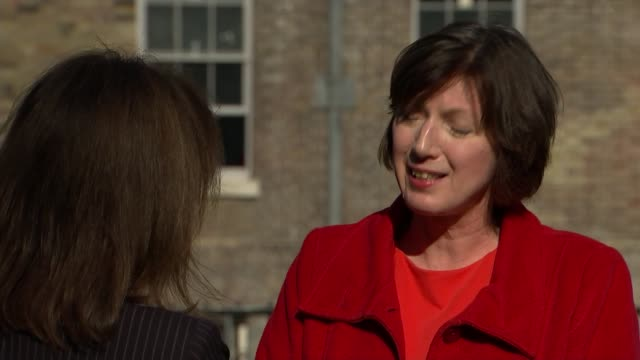 labour motion to reverse cut in tax credits; london: ext frances o'grady interview sot - government said it wasn't going to cut tax credits and it... - reverse motion stock videos & royalty-free footage