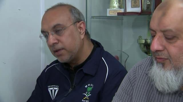 reaction abdul ravat interview sot - ジュリー エッチンガム点の映像素材/bロール