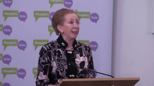 labour mp margaret beckett, lib dem leader vince cable and former green party leader caroline lucas discuss why they feel that brexit plans should be... - vince cable stock videos & royalty-free footage