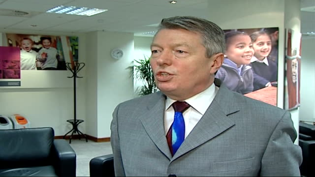 labour mp ruth kelly sends child to private school int alan johnson mp interview sot ruth is going to make a statementherself about these issues /... - alan johnson stock videos & royalty-free footage