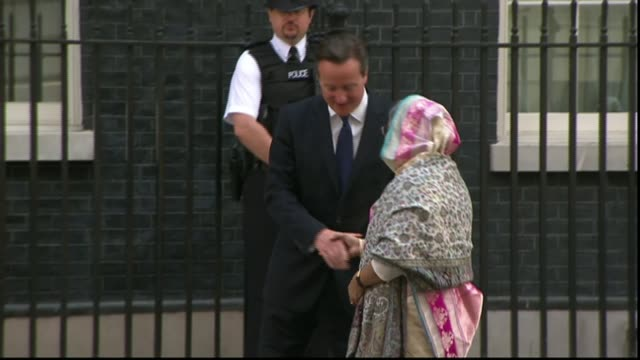 Labour MP Tulip Siddiq asked to intervene in case of barrister allegedly abducted by government LIB / 2272014 EXT Sheikh Hasina along and greeted by...