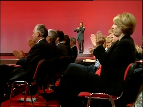 labour party annual conference: alistair darling speech; alistair darling speech sot - but we have our challenges and the past week has thrown quite... - 10 seconds or greater点の映像素材/bロール