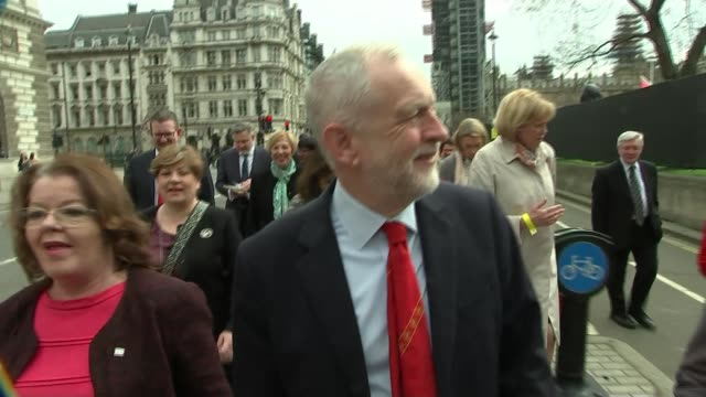 Jewish leaders 'disappointed' following meeting with Jeremy Corbyn Westminster EXT Jeremy Corbyn MP along with others