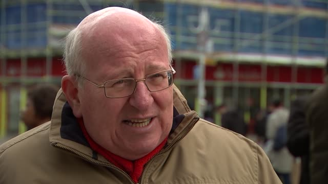 labour party antisemitism row: ken livingstone speaks to press / mike gapes interview; london: mike gapes mp interview sot - what ken livingstone has... - 反ユダヤ主義点の映像素材/bロール