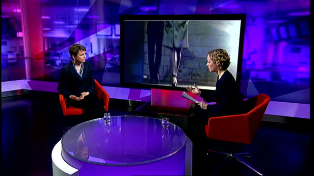 Labour Party calls for a specific law on stalking ENGLAND London GIR INT Yvette Cooper MP interview SOT Lots of support for specific law on stalking...
