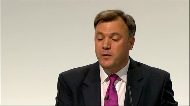 ed balls speech ed balls speech sot but i have to level with you all and the country a plan for growth now will help get the economy moving again and... - 3g stock videos & royalty-free footage