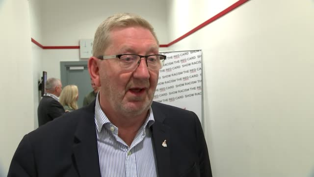 Brexit Keir Starmer speech / Jeremy Corbyn leaves door open to remaining in EU ENGLAND Merseyside Liverpool INT Len McCluskey interview SOT