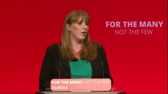 Angela Rayner speech ENGLAND West Sussex Brighton INT Angela Rayner MP speech SOT re National Education Service